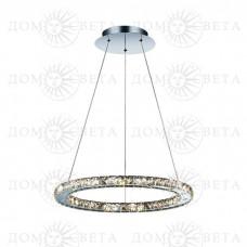 Odeon Light 2710/24L ODL15 076 хром/хрусталь Люстра-подвес LED 24W 220V MAIRI