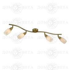 Odeon Light 2067/4W ODL11 783 матовое золото Подсветка E14 4*40W 220V OTTA