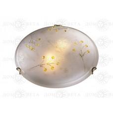 238 FB09 _090 белый/золото Н/п светильник Е27 2*100W BACCA